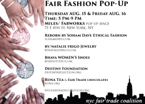 Fair Fashion Pop-Up
