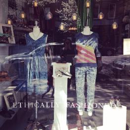 Feral Child Studio dedicated window at Bhoomki Image courtesy; bhoomki_boutique Instagram